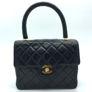 Chanel Mini Kelly Lambskin Flap Bag